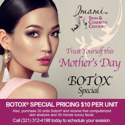 Mother's Day Botox Promo